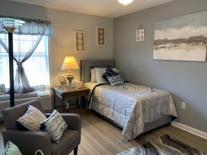 The Cottages of Perry Hall Model Bedroom